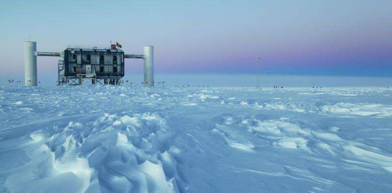 Scientist at work: searching for tiny neutrinos in the South Pole's thick ice