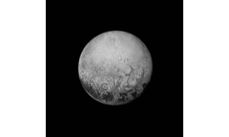 Scientists get their last look at Pluto's mysterious dark spots