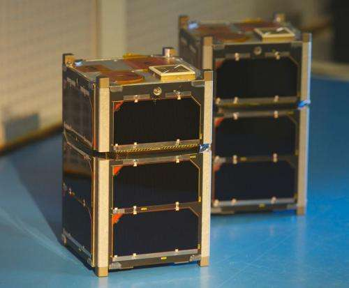 Scientists launch CubeSats into radiation belts