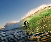 Scientists plan to use surfers to monitor the coastal environment