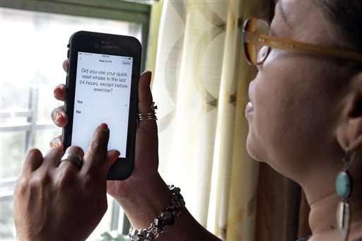 Software turns smartphones into tools for medical research