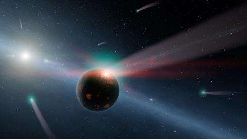 Telescope to seek dust where other Earths may lie