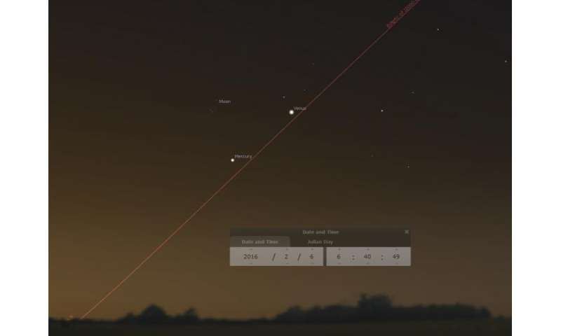 The top 101 astronomical events for 2016