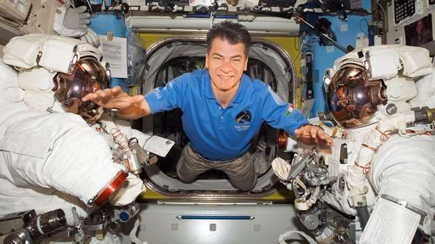 Third spaceflight for astronaut Paolo Nespoli