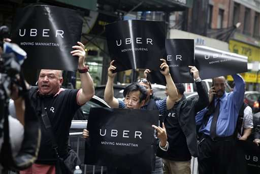 Uber, Lyft push back against proposed NYC regulations