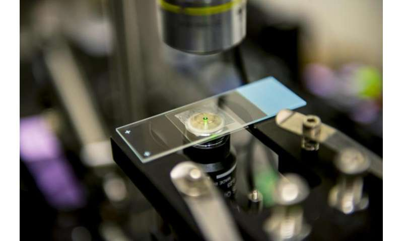 UW team refrigerates liquids with a laser for the first time
