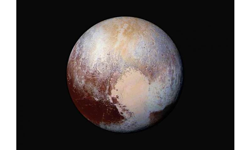 Scientists study nitrogen provision for Pluto's atmosphere