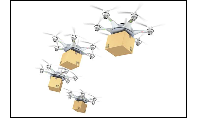Team develops software to predict and prevent drone collisions