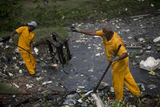 Rio Olympic water badly polluted, even far offshore