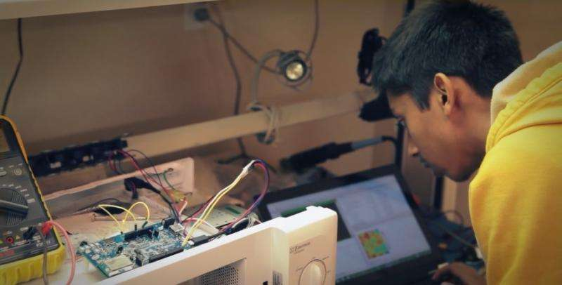 15-year-old boy builds smart microwave that spares the salad