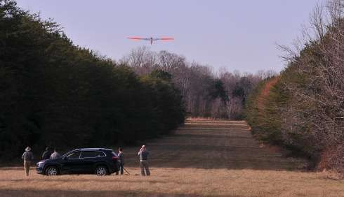 Researchers use unmanned aircraft to inspect energy pipeline route in rural Virginia