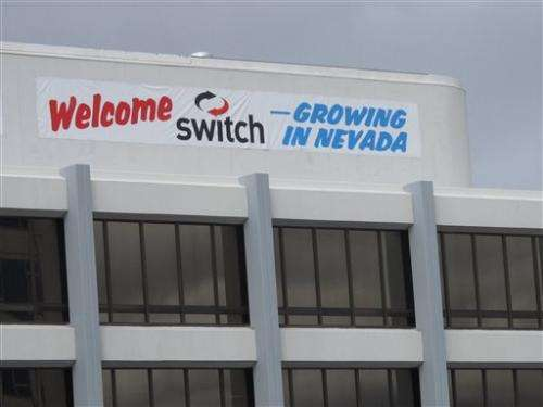 $1B Switch data center near Reno will be world's biggest