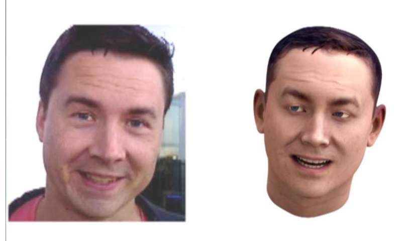 Creating an avatar from a 3D selfie