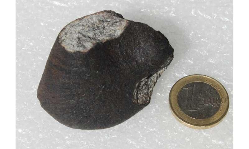 CSIC researchers determine the origin of Annama meteorite