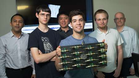 Engineering students create real-time 3-D radar system
