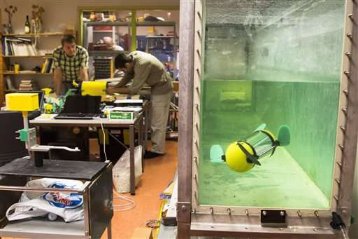 Estonian turtle-robot searches for shipwrecks and treasure
