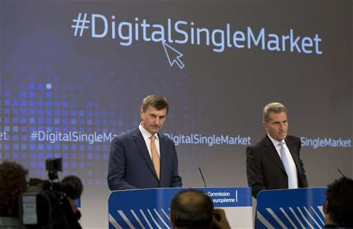 EU plan hopes to help tech companies compete with US giants