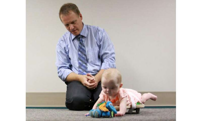 Helping babies with neuromuscular disorders crawl and explore the world