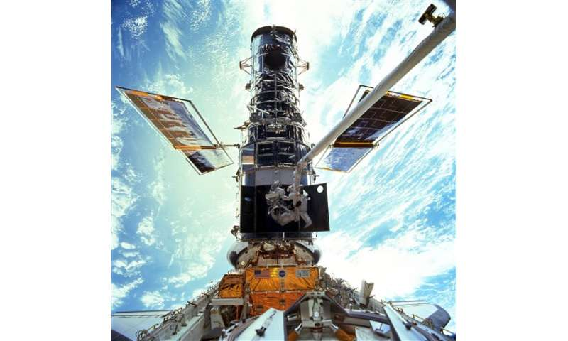 Hubble Space Telescope marking 25th anniversary in orbit