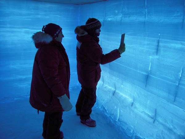 Ice core reveals ocean currents transmitted climate changes from Arctic to Antarctic