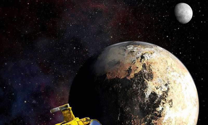 NASA releases new visualization of space environment at Pluto
