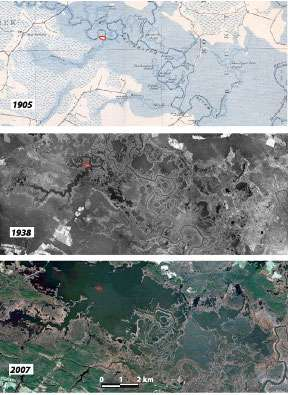 Past and present sea levels in the Chesapeake Bay Region, USA