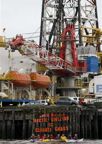 Shell to Seattle: oil drill rigs are coming