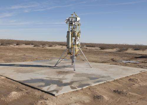Successful test flights for Mars landing technology
