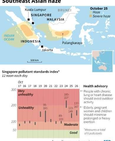 The Southeast Asian haze