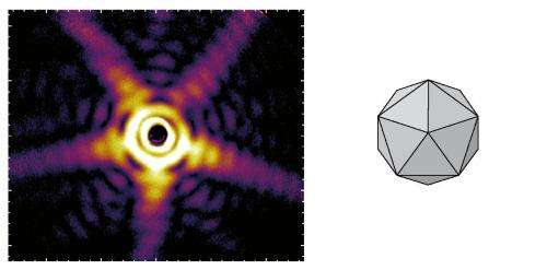X-ray pulses uncover free nanoparticles for the first time in 3-D