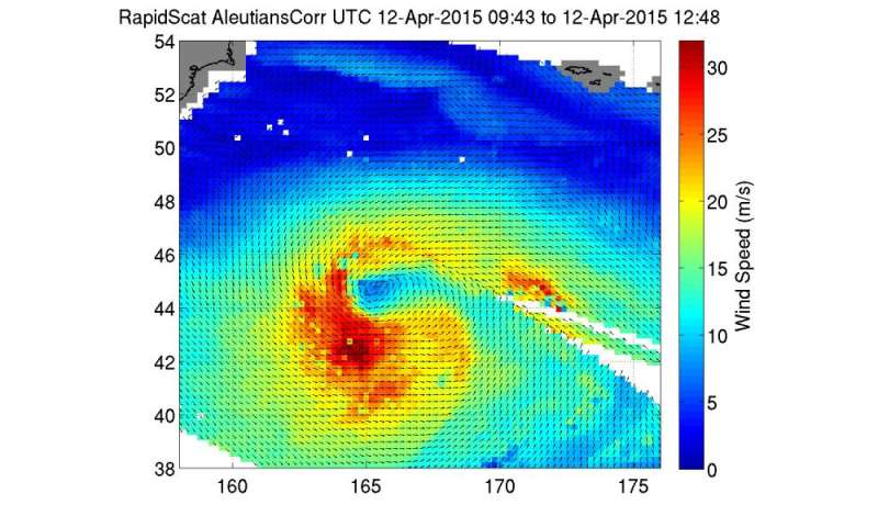 NASA sees Tropical Cyclone Joalane's strongest southwestern side