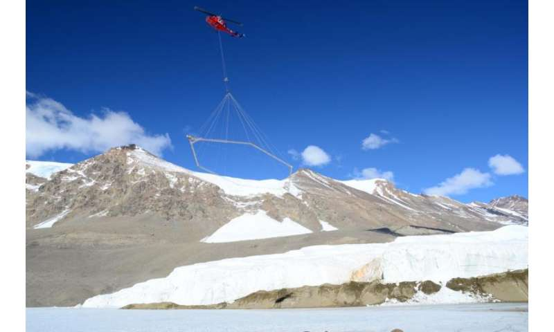 Scientists discover salty aquifer, previously unknown microbial habitat under Antarctica