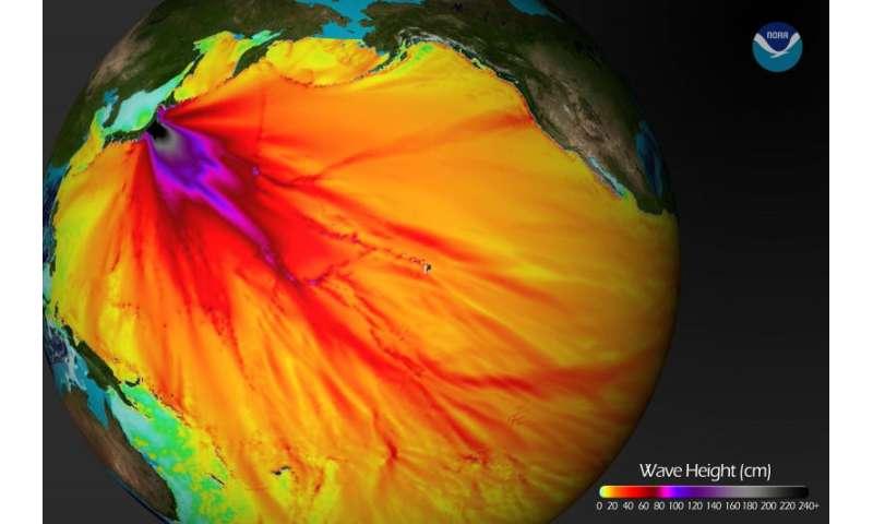 Researchers model tsunami hazards on the Northwest coast