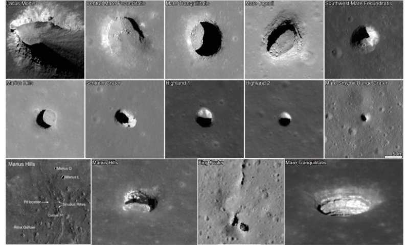 New technology may illuminate mystery moon caves
