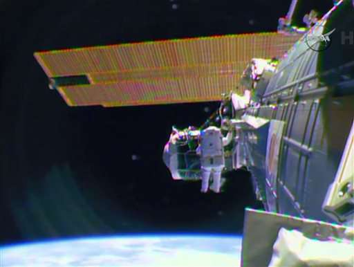 Space station suffers short circuit, power system degraded