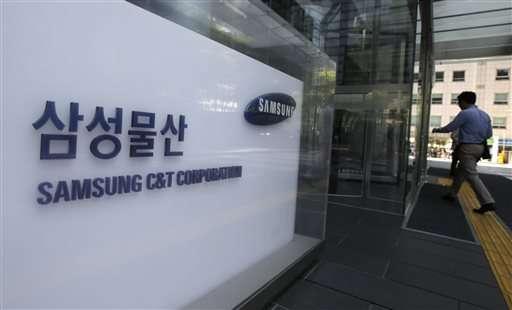 Corporate maneuver at Samsung strengthens heir's influence