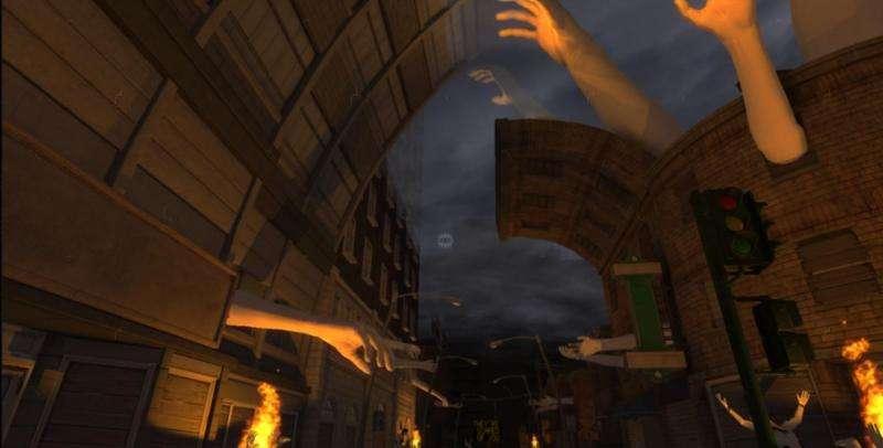 Depth-sensing technology enhances games
