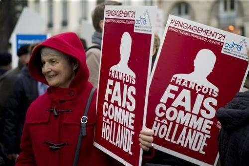 French Parliament debates legalization of terminal sedation