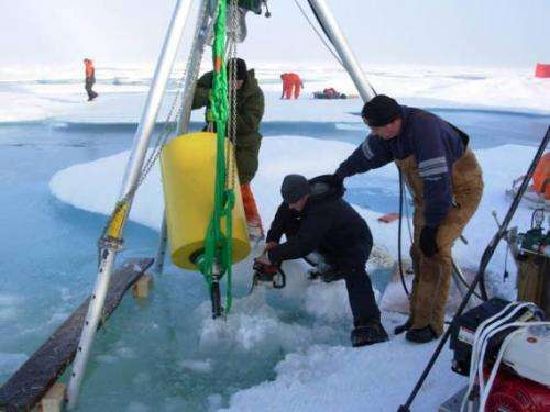 Ice-tethered devices to collect more data on the Arctic Ocean