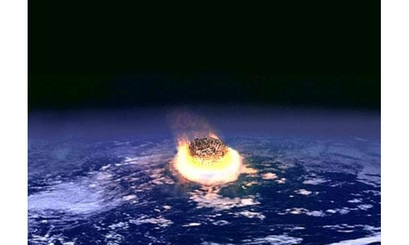 Meteorite impact turns silica into stishovite in a billionth of a second