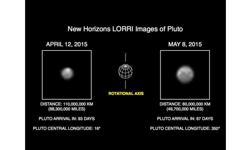 NASA's New Horizons Sees More Detail as It Draws Closer to Pluto