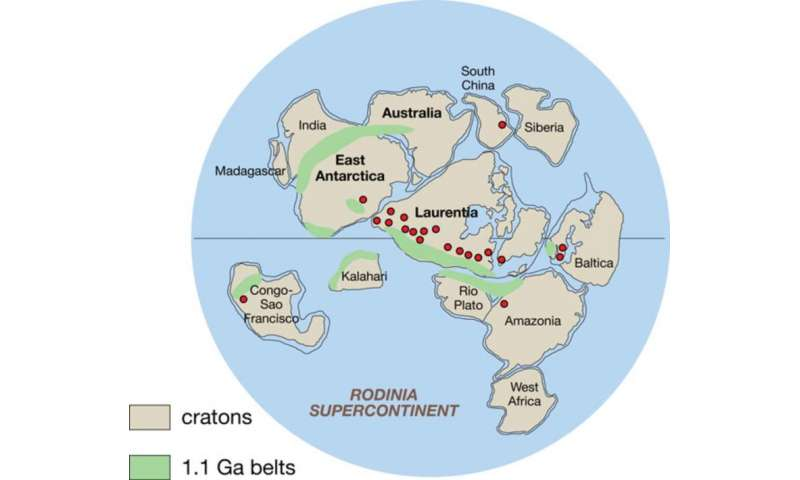 New study shows Antarctic climate even gripped thetropics