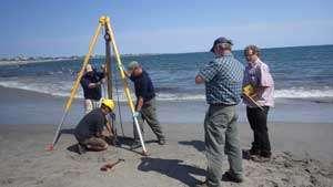Oceanographers solve mystery of beach explosion