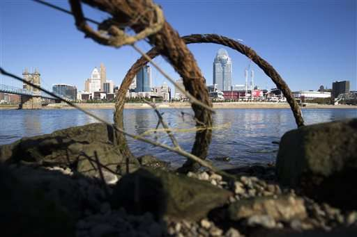 Ohio River's huge algae bloom a warning for water suppliers