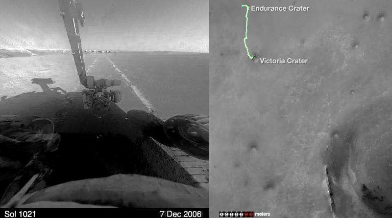 Opportunity's 7th Mars winter to include new study area