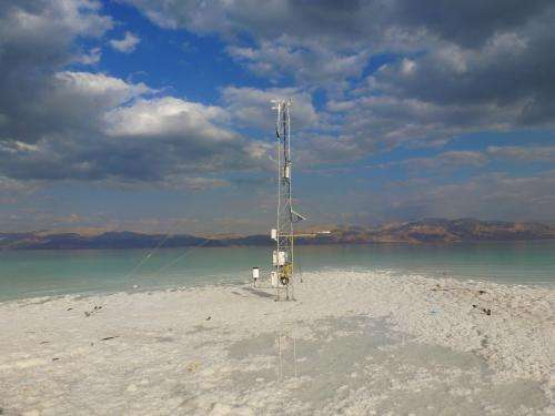 Researchers study change in the dead sea valley