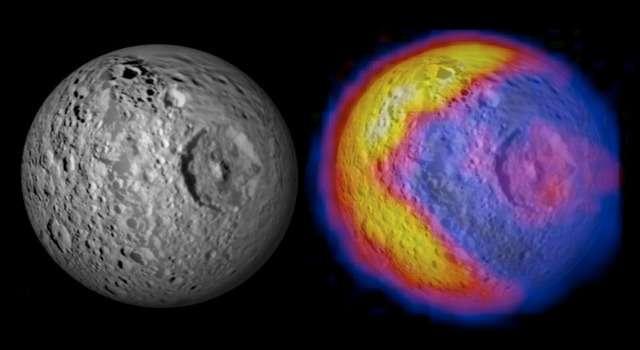 "Saturn's ""Death Star"" moon Mimas"