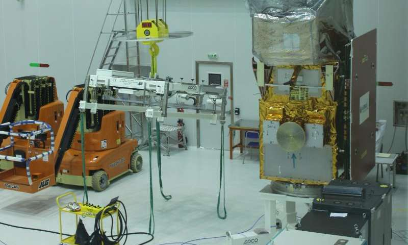 Sentinel-2A arrives in French Guiana for 12 June launch