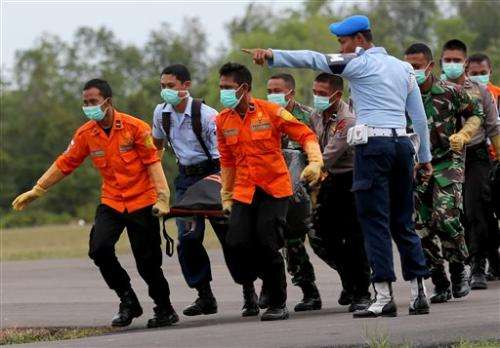 Two large objects found in AirAsia wreckage hunt