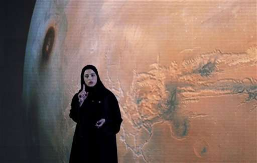 UAE to explore Mars' atmosphere with probe named 'Hope'